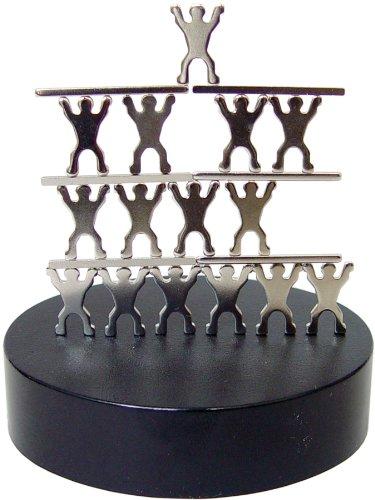 Magnetic Sculptures Acrobats Showpiece - 1