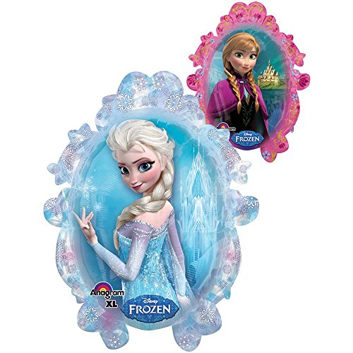 "1 X Disney Frozen Double Sided Mirror 25"" Balloon (Each) - 1"