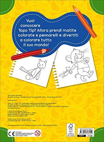 Libro colora con topo tip di aa vv for Topo tip immagini