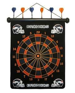 NFL Denver Broncos Dart Board