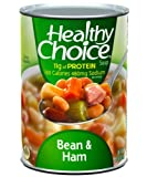 51ZevTwlRVL. SL160  Healthy Choice Beans & Ham Soup, 15 Ounce Cans (Pack of 12)