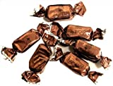 Zaza Foil Brown Foiled Chocolate Flavored Chewy Kosher Taffy
