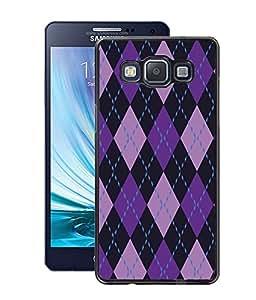 Fuson PVC-2D Metallic Pinted Music Designer Back Case Cover for Samsung Galaxy A5 SM-A500F-D1012