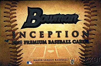 2015 Bowman Inception MLB Baseball Factory Sealed HOBBY Box with FIVE(5) AUTOGRAPHS ! Brand New! ON FIRE! Look for Autographs of Kris Bryant, Bryce Harper, Mike Trout and Many more !