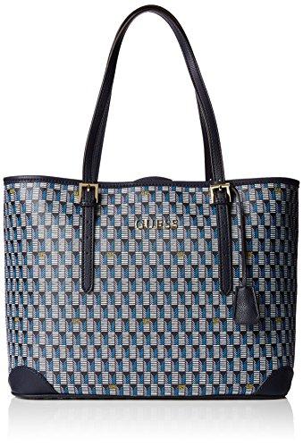 Guess Damen Handtaschen, Mehrfarbig (Blm), 10 cm thumbnail
