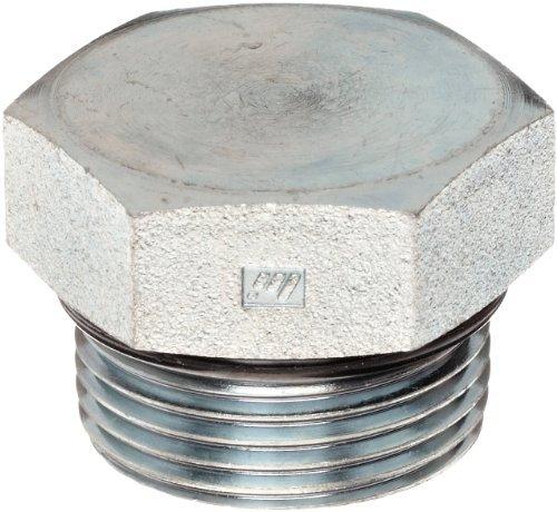 brennan-6408-08-o-steel-straight-thread-o-ring-tube-fitting-external-hex-plug-1-2-tube-od-3-4-16-mal