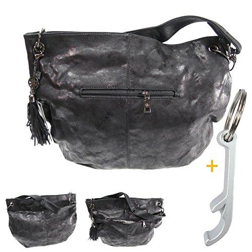 # 7399Fashion Elegant Handbag Stadtlich Women's City Bag Stainless