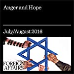 Anger and Hope | Jonathan Tepperman,Tzipi Livni