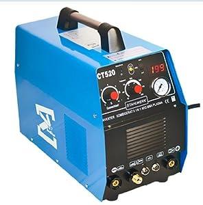 3 in 1 STAHLWERK CT 520 DC Inverter MMA/TIG/ Welding Machine Welder Plasma Cutter Cutting Machine from STAHLWERK