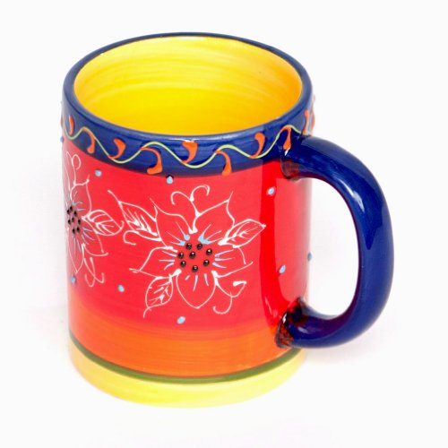 Spanish Mug - Hand Painted - Fiesta