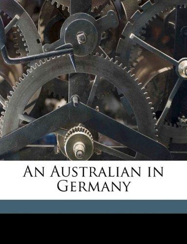 An Australian in Germany