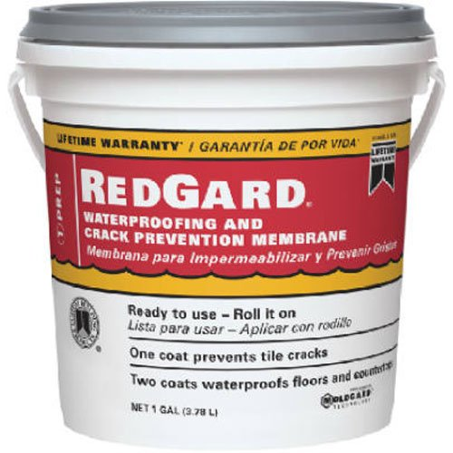 CUSTOM BLDG PRODUCTS LQWAF1-2 Redgard Waterproofing, 1 gal (Water Proof Membrane compare prices)