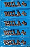 Sampler Pack 5 Packets Rizla Blue King Size Cigarette Rolling papers