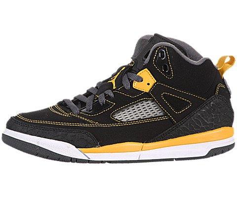 Images for Air Jordan Spiz'ike (Preschool) - Black / University Gold-Dark Grey-White, 11.5 M US