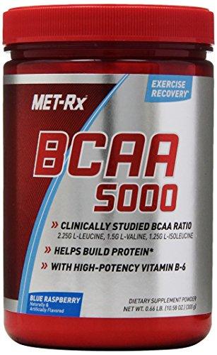 Metrx Bcaa Dietary Supplement Powder, Blue Raspberry, 300 Gram