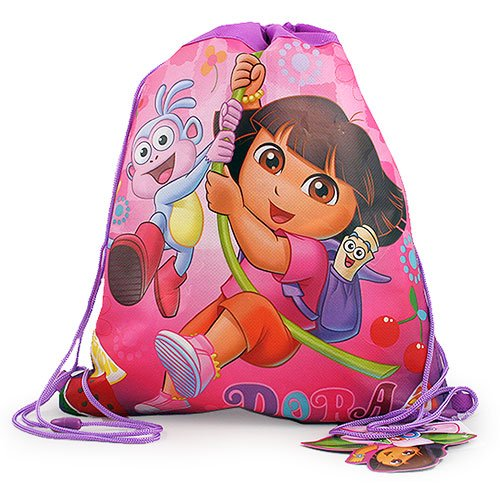 Dora the Explorer Non-Woven Sling Bag [2-Pack] - 1