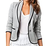 PAKULA Womens Business Suit Blazer