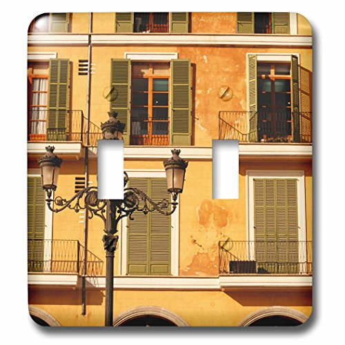 Danita Delimont - Lamps - Spain, Balearic Islands, Mallorca. Plaza Mayor. - Light Switch Covers - double toggle switch (lsp_209872_2)