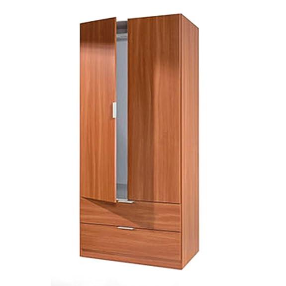 Mobile armadio ante cassetti 81x52x180cm arredo design casa camera bagno LCX222C