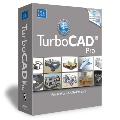 TurboCAD Pro 18 Professional 2D & 3D CAD Software