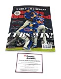 Kris Bryant Chicago Cubs Signed Autograph Full Sports Illusttrated Magazine World Series Champs Edition Fanatics Authentic Certified