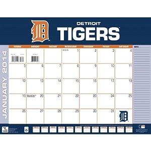 Amazon.com : Turner - Perfect Timing 2014 Detroit Tigers Desk Calendar ...