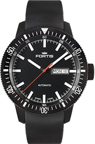 Fortis B-42 Monolith 647.18.31.K Reloj Automático para hombres Recubierto con PVD