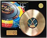"""ELO OUT OF THE BLUE GOLD LP LTD SIGNATURE RECORD DISPLAY """"C3"""""""