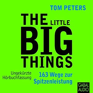 The Little Big Things Hörbuch