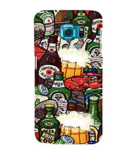 Food and Drinks 3D Hard Polycarbonate Designer Back Case Cover for Samsung Galaxy S6 Edge+ :: Samsung Galaxy S6 Edge Plus :: Samsung Galaxy S6 Edge+ G928G :: Samsung Galaxy S6 Edge+ G928F G928T G928A G928I