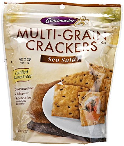 Crunchmaster Multigrain & Seasalt Cracker 4.5 OZ