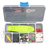 Remeehi Finger Skateboard With Storage Box Mini Finger Skateboard Set Educational Toys Sets Great Gift For Kids...