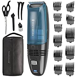 Remington HC6550 Cordless Vacuum Haircut Kit, Hair Clippers, Hair Trimmers, Clippers