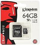 Kingston SDC10G2/64GB - Tarjeta micro...