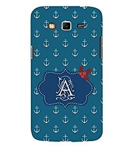 EPICCASE anchor of A Mobile Back Case Cover For Samsung Galaxy Grand Max & Grand 3 (Designer Case)