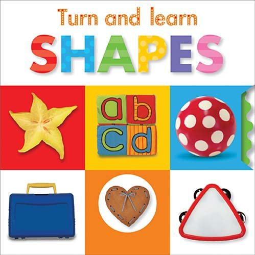 Turn And Learn: Shapes (Turn And Learn (Make Believe)) front-491660