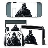 Nintendo Switch Design Foils Faceplate Set - Soldier Design