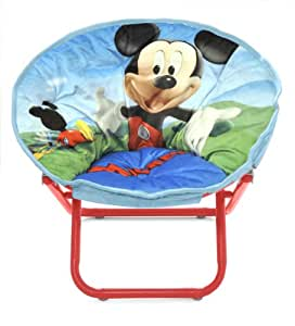 Amazon Com Disney Mickey Mouse Toddler Saucer Chair Toys