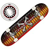 Roller Derby Flame Skateboard