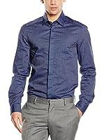 TRU TRUSSARDI Camisa Hombre London (Azul)