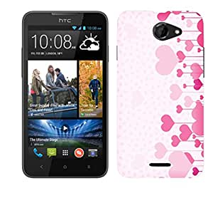 WOW Printed Designer Mobile Case Back Cover For HTC Desire 516