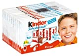 Ferrero: Kinder chocolate 8 bar of milk-cocoa - 10 x 100 g