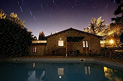 Firefly Light Projector Ecolighting® Dynamic Dual Laser Landscape Projector Light for Garden/tree/outdoor Wall Decoration and Christmas Holiday Decoration,red & Green