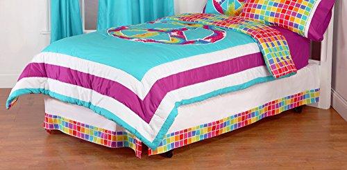 Purple Tie Dye Bedding 6665 front