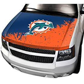 NFL Auto Hood Cover NFL Team: Miami Dolphins