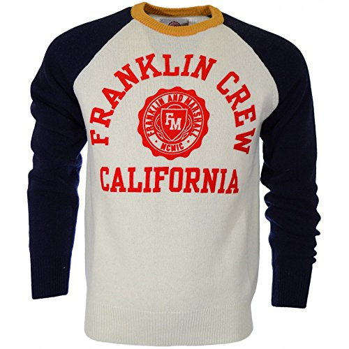 Franklin & Maresciallo California Logo Maglione Old White Medium