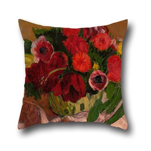 18-x-18-inches-45-by-45-cm-oil-painting-roderic-oconor-mixed-flowers-on-pink-cloth-throw-pillow-case