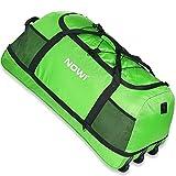 Nowi XXL 3-Rollen Reisetasche 100-135 Liter Volumen Rollenreisetasche platzsparend 81