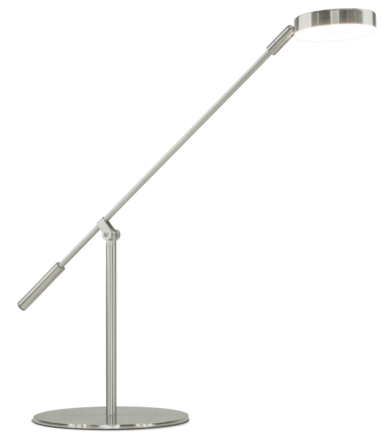Turcom LED Desk Lamp, Energy-Efficient, Non-Flickering for Reading, Adjustable Neck, Touch-Sensitive Control Panel, 450 Lumen