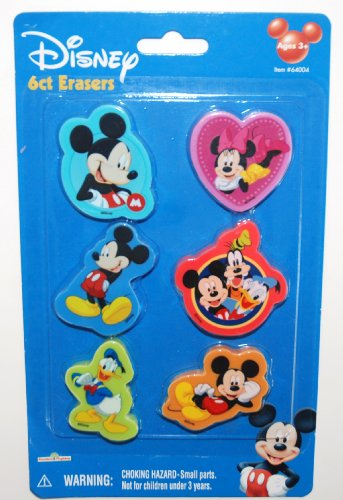 Disney Mickey Mouse Clubhouse Erasers